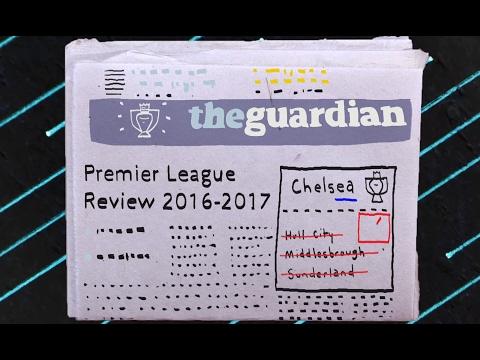 The story of 2016-17 Premier League season (видео)