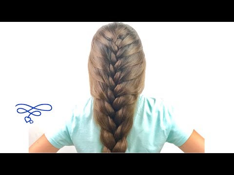 Braid hairstyles - 90/45 French Braid
