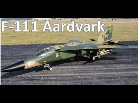 F-111A Aardvark fighter used during...