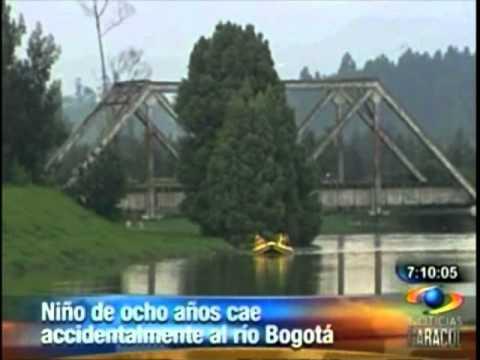 Reinician búsqueda en río Bogotá El menor de 8 años cayó al agua en el momento en el que jugaba a orillas del río