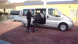 TURNY EVO + CARONY FIXED 001 ve voze RENAULT Trafic - přesun z vozu