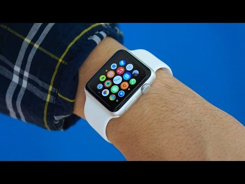 Apple Watch Unboxing & Initial Setup