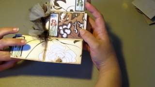 Toilet Paper Roll Mini Scrapbook Album ~ My Very First - YouTube