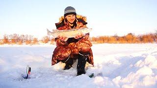 Зимняя рыбалка. Один на реке (Январь 2015. День 2)