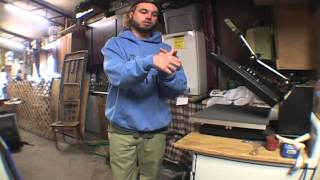 showing vinyl heat transfers vs Screen printing and a tour around the shop thanks for watching COMMENT LIKE SUBSCRIBE more videos to come
