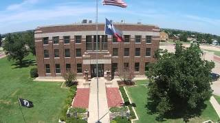Post (TX) United States  city photo : Garza County Courthouse and Square in Post Texas