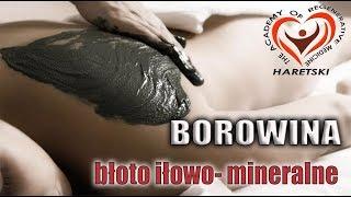 Czarne Złoto. Borowina. Błoto Iłowo - Mineralne z Jeziora Saki.