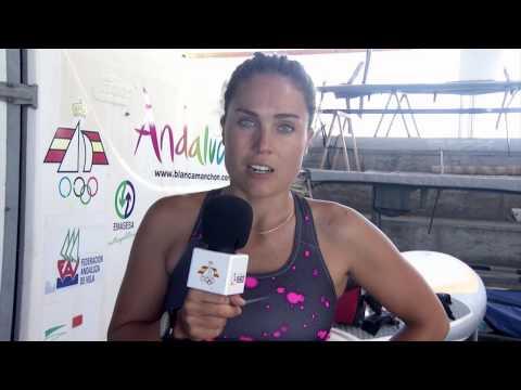 Saludo Blanca Manchón desde Santander