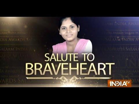 """India TV Special: """"Salaam India Awards 2014""""- Payal Senani 25 October 2014 11 PM"""