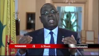 Macky Sall sur TV5MONDE : L'islam modéré, rempart contre le djihadisme