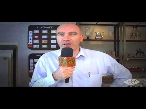 Fabrice Le Fur da Bticino visita loja Aldeia