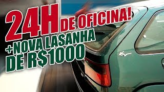 24 HORAS DENTRO DA OFICINA (Ft. Carro de R$1.000,00 ZX, Cactus)