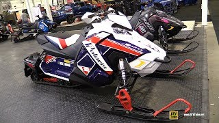 10. 2018 Polaris Rush 800 Founders Edition Sled - Walkaround - 2017 Toronto Snowmobile ATV Show