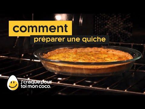 Comment préparer une quiche