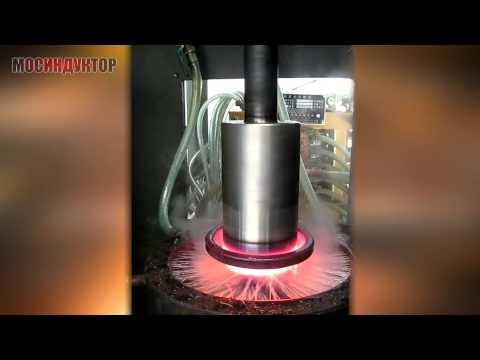 Индукционная закалка вала d220 mm