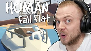 HUMAN FALL FLAT! W/Stamps! Boat Level! by iBallisticSquid