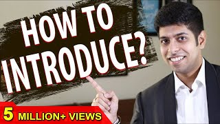 How to Introduce Yourself? : Interview Tips in Hindi
