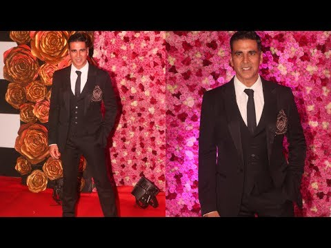 2.0 Villain Character Akshay Kumar At LUX Golden Rose Awards 2018 || RedCarpet