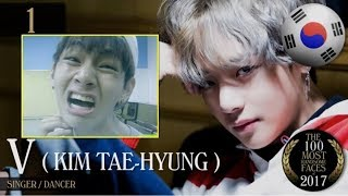 Nonton Bts V Named The Most Handsome Face Of 2017 Film Subtitle Indonesia Streaming Movie Download