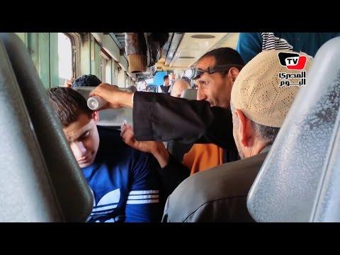 سيد شكرى.. دكتور أنف وأذن خط «القاهرة- المنوفية».. «العيَّان يركب القطر»