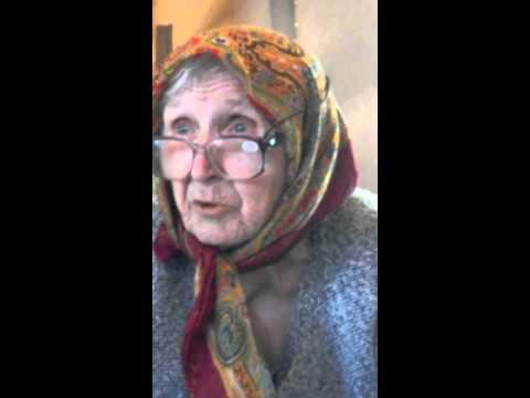 Бабка хаит Украину (видео)