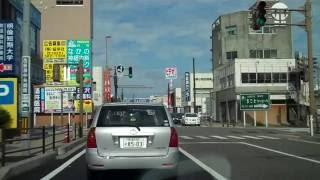 Niigata Japan  city photos gallery : Driving around in Niigata City, Japan (part 1)
