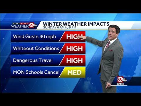 First Alert: Snow tracking toward Kansas Cty