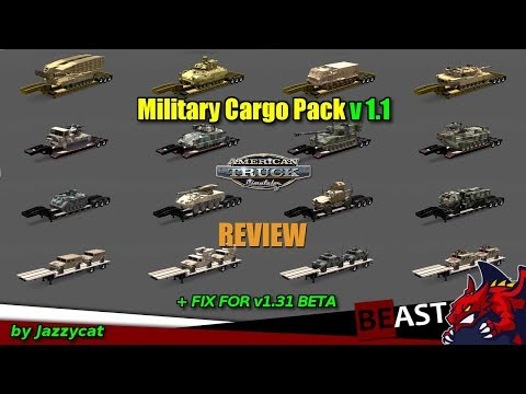 Fix for Military Cargo Pack by Jazzycat v1.1 for patch 1.31.x beta