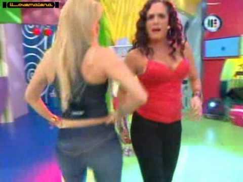 Aline Hernandez mega nalgona (видео)