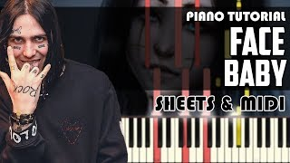 FACE - Baby | Piano Tutorial + Ноты & MIDI