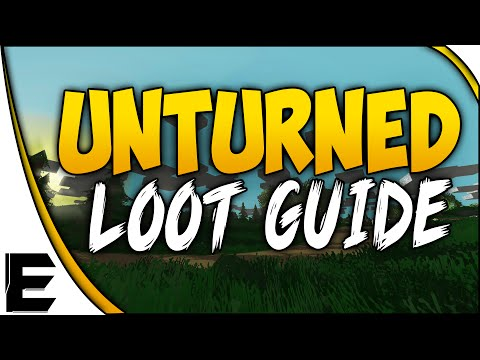 LOOT!!! - Unturned ➤ Download Unturned Free - http://store.steampowered.com/app/304930/ Unturned ➤ SURVIVAL GUIDE - Loot Location & Map Guide - How To Find Military Loot & Rare Items. A step by step...