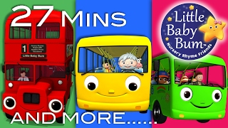 Video Wheels On The Bus | All the videos! | 27 Minutes Compilation from LittleBabyBum! MP3, 3GP, MP4, WEBM, AVI, FLV Agustus 2017