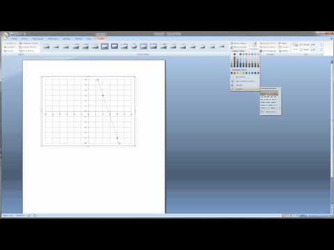 Cartesian graph in excel bajool video 1make a graph in microsoft word for math problems ccuart Gallery
