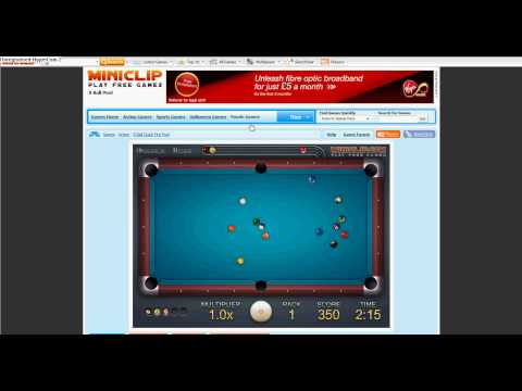 miniclip 8 ball pool aimer