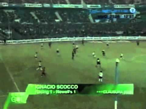 Ignacio Scocco - Newells vs Racing - Clausura 2006