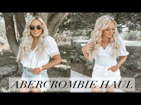 ABERCROMBIE AND FITCH CLOTHING HAUL