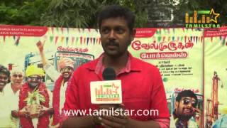 Mahesh at Velmurugan Borewells Movie Team Interview