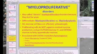 Medical School Pathology, 2013 Season, Session #52: WBC-I