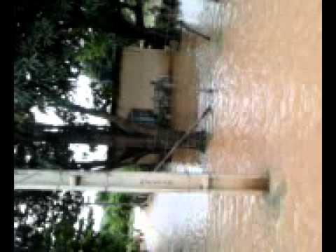 Enchente da Barra do Manhuaçú em Aimorés