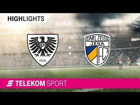 SC Preußen Münster - FC Carl Zeiss Jena | Spieltag 2, 18/19 | Telekom Sport