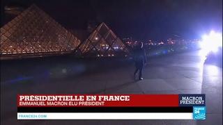 Video Historique ! Emmanuel Macron s'avance, seul, sur la scène du carroussel du Louvre MP3, 3GP, MP4, WEBM, AVI, FLV Juni 2017