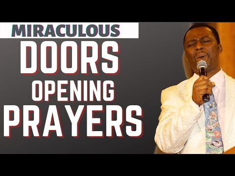 dr dk olukoya - Miraculous Doors Opening Prayers