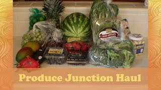 My favorite place to shop for fresh fruits and vegetables. The Produce Junction! Check out everything I got on my shopping haul.