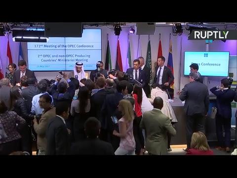 (он-лайн) Министр энергетики РФ на пресс-конференции по итогам заседания ОПЕК