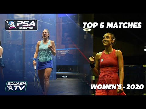 Top 5 Women's Squash Matches of 2020