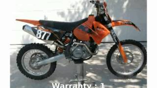 6. 2006 KTM XC 450 - Review