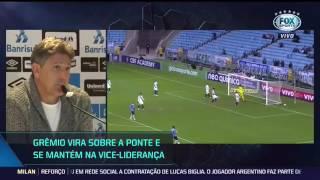 Renato Gaúcho comenta sobre empate do Corinthians; 'ele vai tropeçar, é normal';