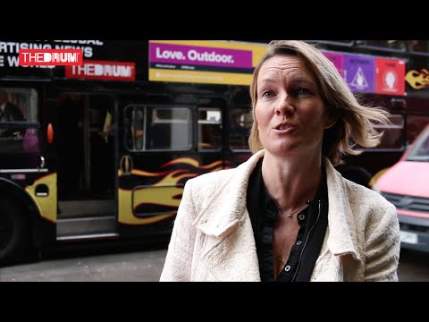 Clear Channel UK promotes outdoor media aboard The Drum's AdWeek bus video