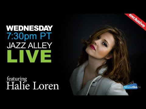 ShowGo.tv presents Halie Loren live from Jazz Alley