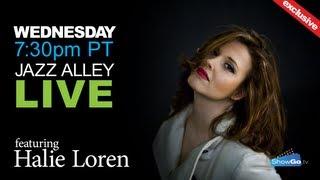 ShowGo.tv presents Halie Loren live from Jazz Alley